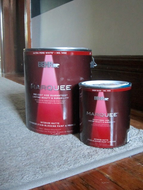 Behr Marquee Paint Cans Decor Adventures