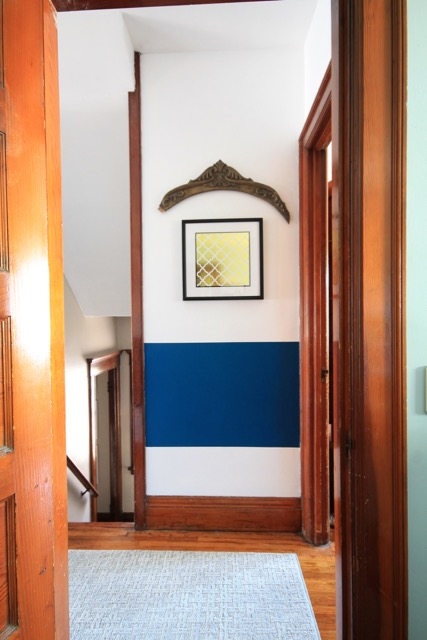 Old House Wood Trim Paint Idea