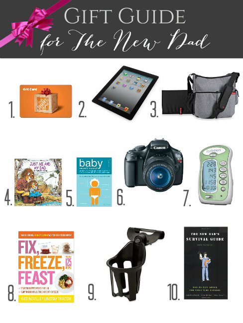 Gift Guide for the New Dad » Decor Adventures