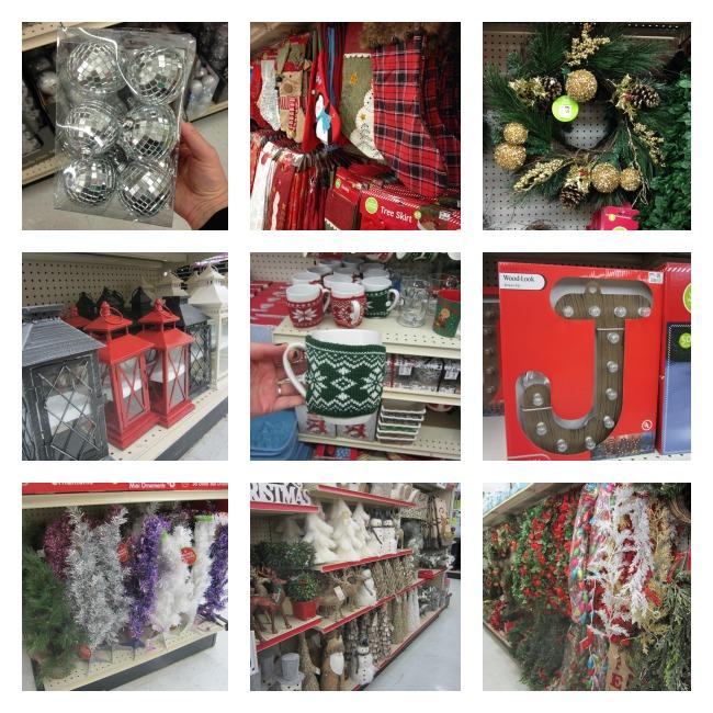 Holiday Decor at Big Lots