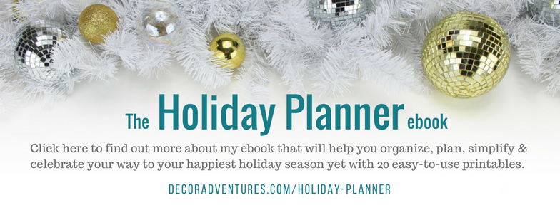 Decor Adventures Holiday Planner