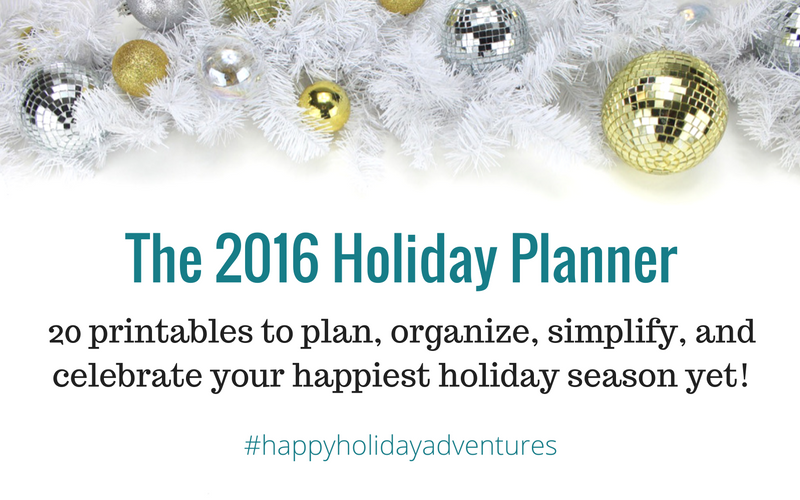 Holiday Planner by Decor Adventures