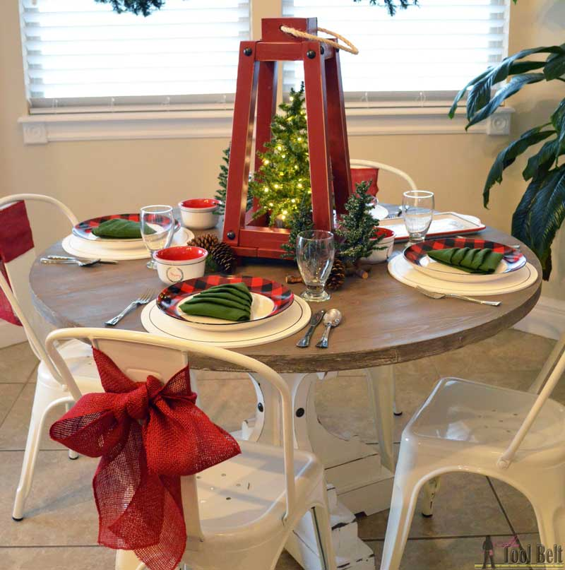 Her Toolbelt Holiday Tablescape