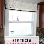 How to Sew a Fake Roman Shade