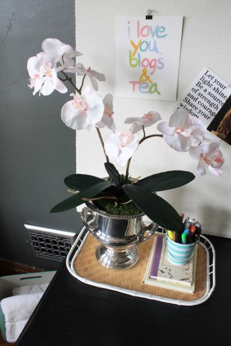 Arranging Fake Orchids