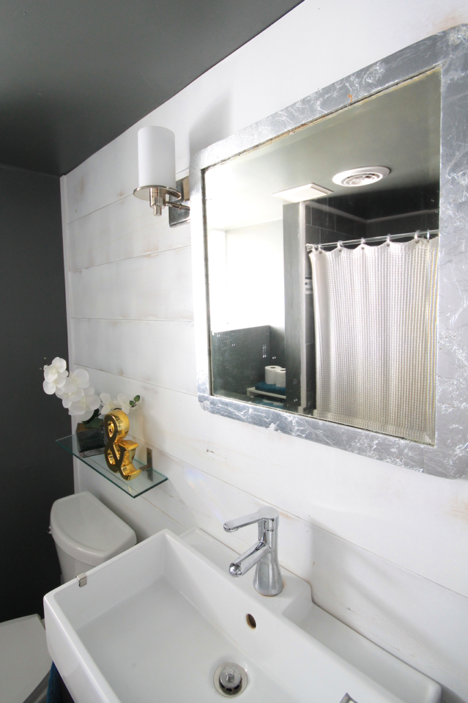 Basement Bathroom Makeover by Decor Adventures