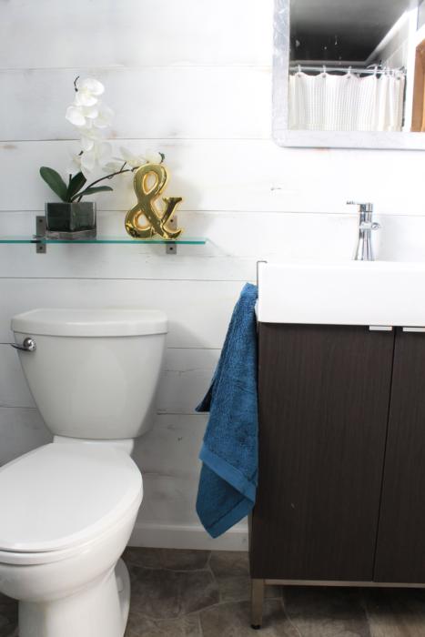 Basement Bathroom Makeover Decor Adventures