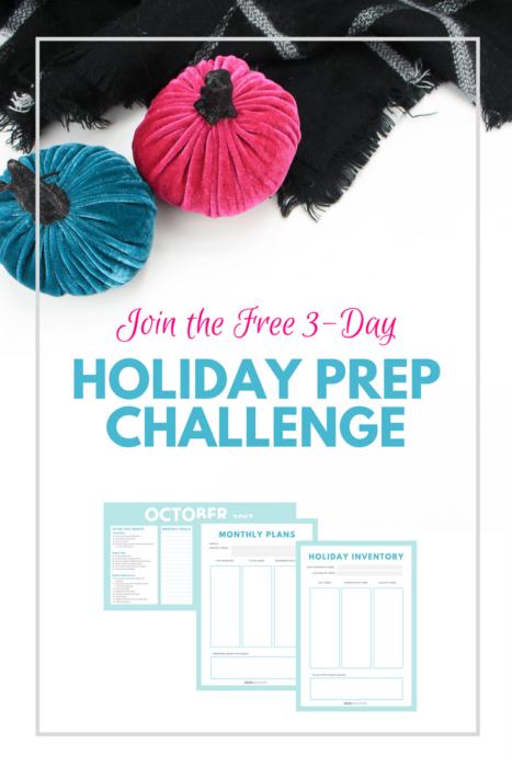 Decor Adventures Holiday Prep Challenge