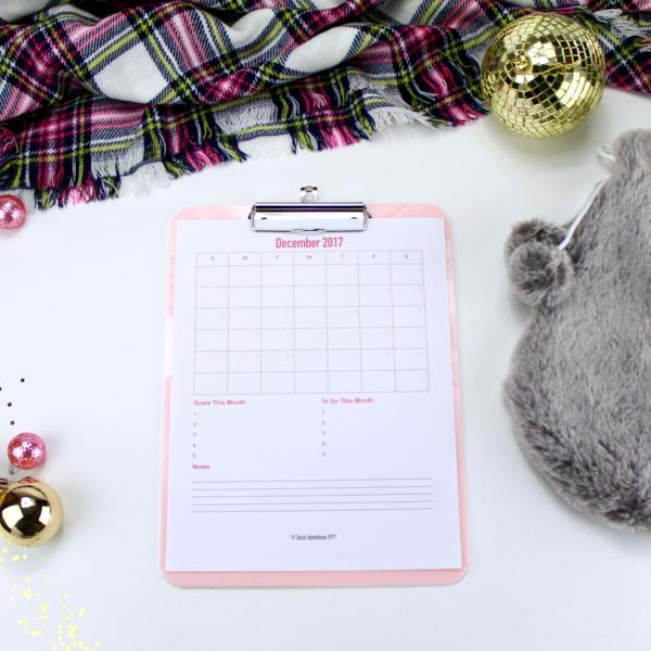 Decor Adventures Holiday Planner