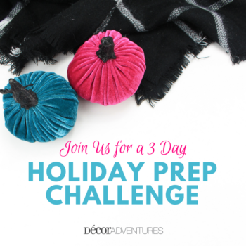 Holiday Prep Challenge