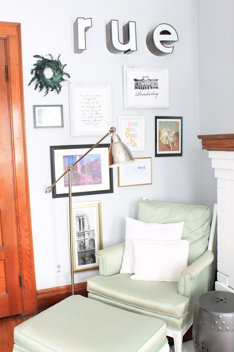 How to hang items on plaster walls decor adventures - Things to put on a wall ...