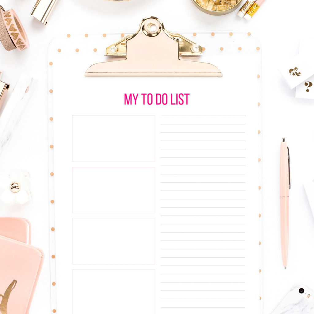 This is a picture of Selective To Do List Images